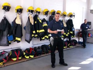 Holsworthy Fire Station Visit
