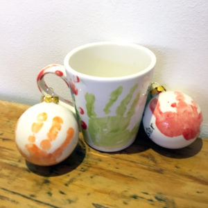 Tarka Pottery Christmas Painting