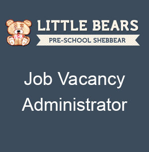Job Vacancy - Administrator